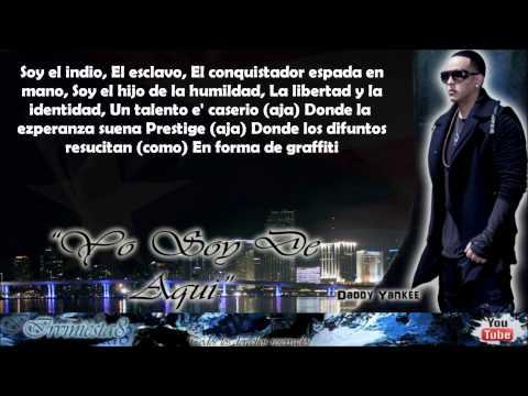 Yo Soy De Aqui (Con Letra) - Don Omar Ft...