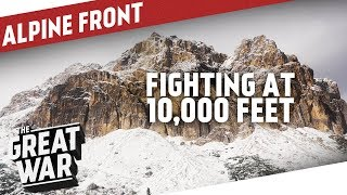 Trenches At 10,000 Feet - Fighting On Mt. Lagazuoi I THE GREAT WAR On The Road [4K]