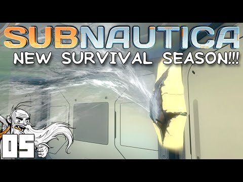 MY BASE IS FLOODING!!! Subnautica Ep 05 1080p HD PC Gameplay Walkthrough