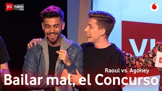 Raoul-vs-Agoney-Tú-sí-que-no-Challenge-yuTUBERSRagoney