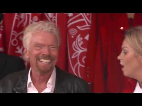 Richard Branson haggles with Jaffa Flea Market locals in Tel Aviv (subtitles)