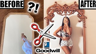 DIY GOLD MIRROR MAKEOVER!