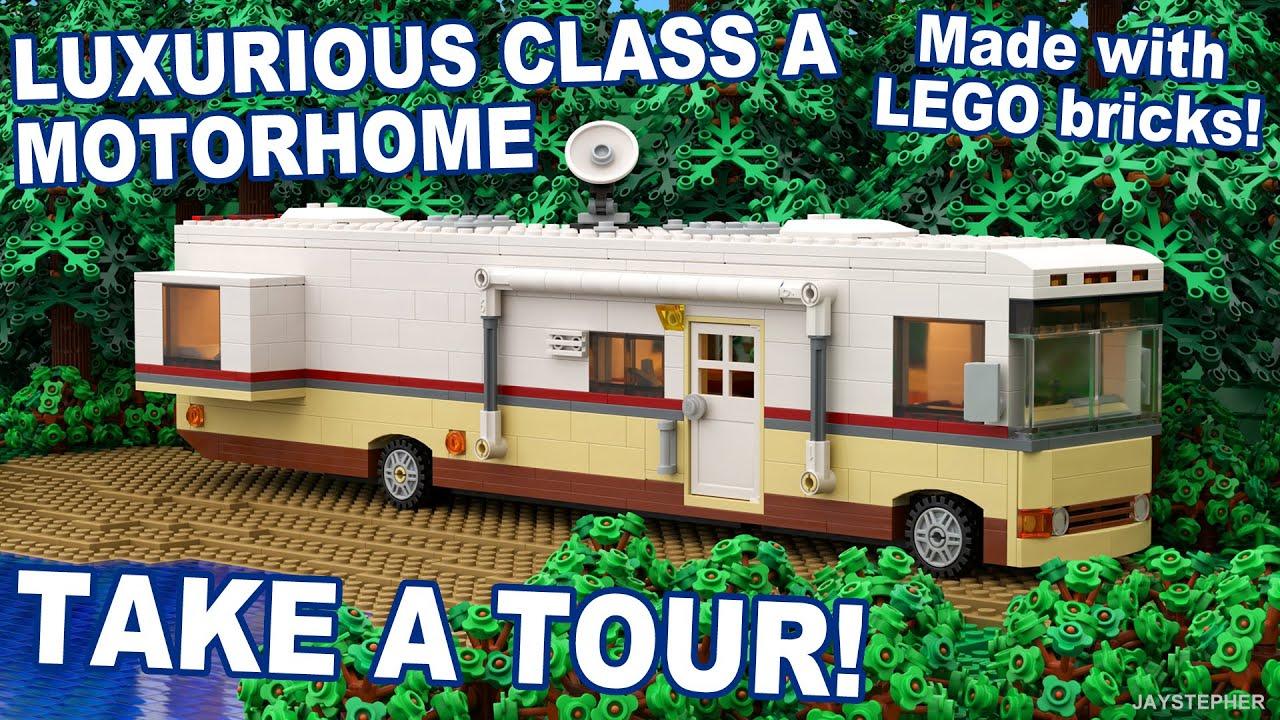 Awesome Custom Build Motorhome - From Lego! - the RV Hub