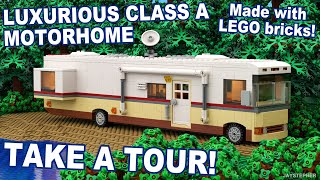 Custom Build - Luxurious Class A Lego Motorhome [cc]