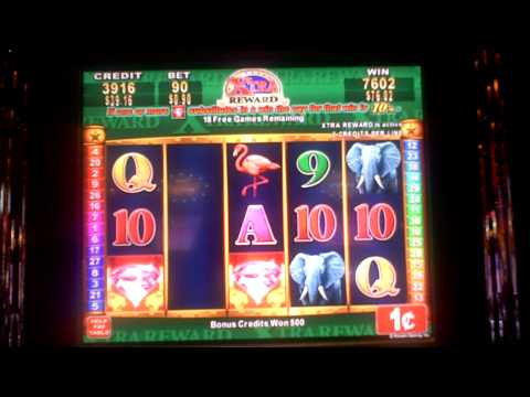 Extra Reward Safari with 2 Retriggers Bonus Slot Win