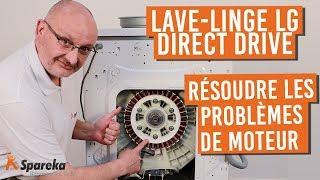 Résoudre les problèmes de moteur de votre lave linge LG Direct Drive code panne SE, CE, LE