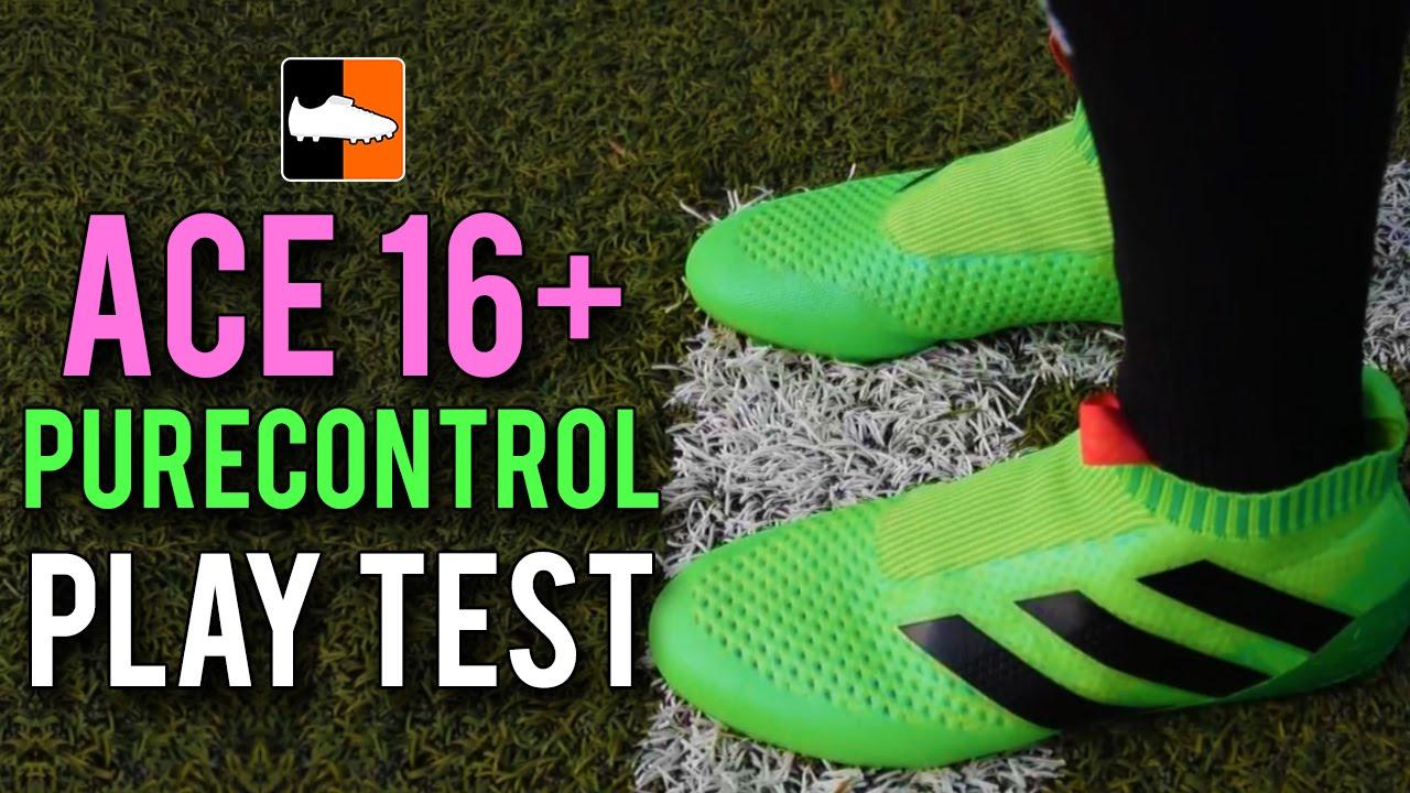 adidas ACE16+ Purecontrol Play Test Feat. FootballFreakzHD
