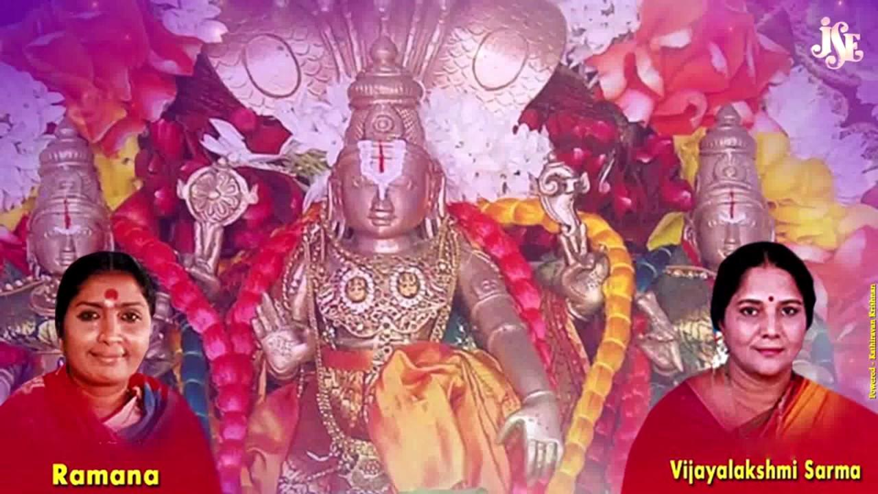 Sri Venkateswara Suprabatham With Tamil Lyrics    kamala kucha chuchuka  lyrics in tamil   