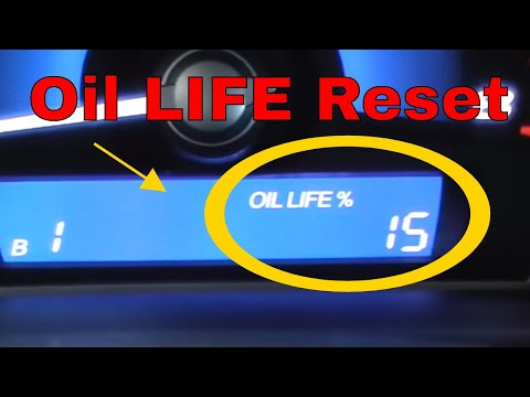 How to reset oil life on honda youtube for Honda crv wrench light