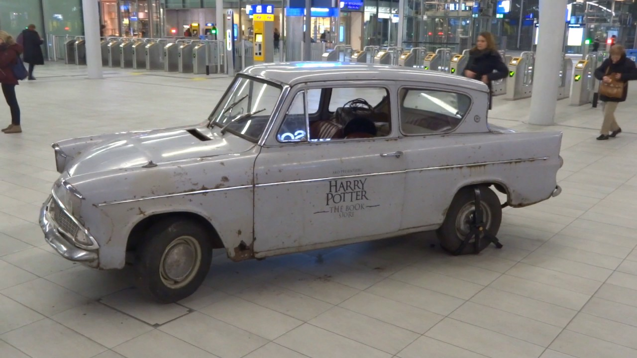 harry potter car in real life flying ford anglia youtube. Black Bedroom Furniture Sets. Home Design Ideas