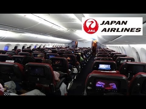 『Best Economy Class Airline Seats in 2017』Japan Airlines JL723|Narita ✈︎ Kuala Lumpur