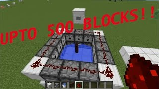 How To Make A Small TNT Launch Cannon In Minecraft (Upto 500 Blocks!!!)