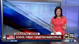 School threat targets Maricopa High School