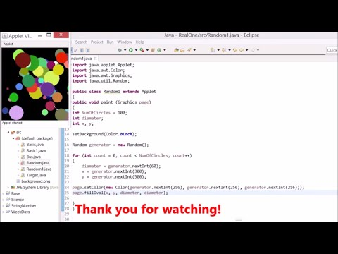 Basic Java - Using Random For Drawing Ovals