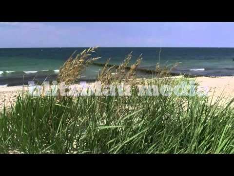 Stock Footage Europe Germany Baltic Sea Beach Travel Vacation Holiday Ostsee Urlaub Playa Praia