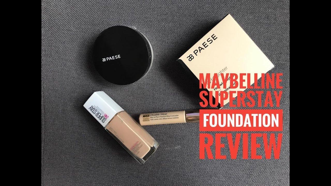 [Review] - Maybelline SuperStay Full Coverage Fond de Ten    Sandra G's Makeup