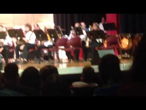 North Knox High School band performing Pirates of the Caribbean...Mason Devine style