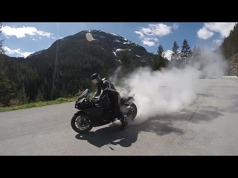 Nice Road, Awesome Sound And A Little Burnout