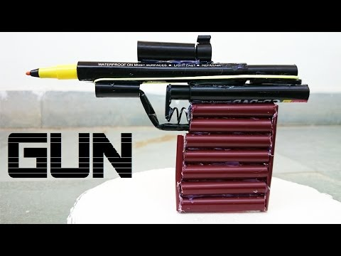 Thumbnail: How to Make a Powerful Gun using Sketch Pen that shoots