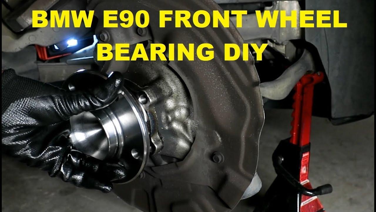 BMW E90 3 Series Wheel Bearing DIY