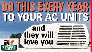 Make your RV, AC Units run cool & last long. Easy DIY