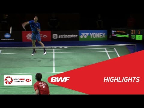 YONEX German Open 2018 | Badminton MS - F - Highlights | BWF 2018