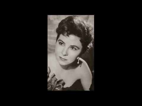 """Christa Ludwig's earliest recording aged 22 LIVE (1950) """"Chacun a son gout"""""""
