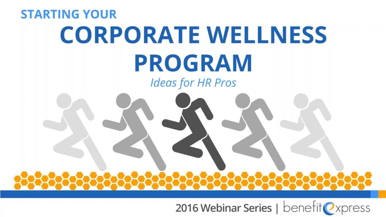 starting your corporate wellness program: ideas and compliance for