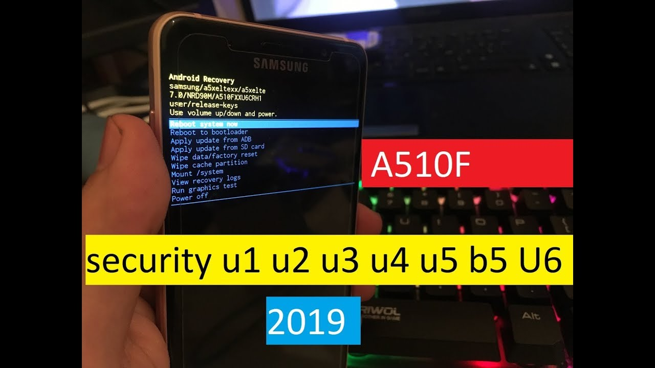 frp lock samsung a510f android 7.0- u5- 2018