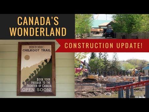 Canada's Wonderland - New Construction Update! 2019 Coaster - It's Not Ziz :(