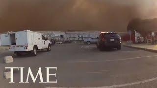 California Police Race To Evacuate SPCA Animals As Wildfire Nears | TIME