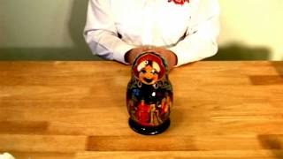 ASMR Relaxation Video (Nesting Dolls)