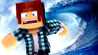 Minecraft Animado #28 : TSUNAMI !! ( Minecraft Animation )