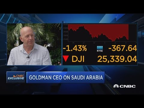 Dina Powell will no longer go to Saudi investment conference, says Goldman's Solomon