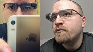 Google Glass Prescription Glasses!