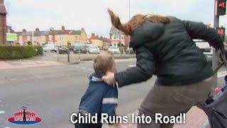 Child Runs Into Road On Way To Nursery! | Supernanny UK