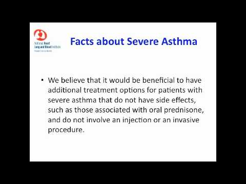 Severe Asthma Research at the National Heart, Lung, and Blood Institute