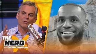 Colin Cowherd believes Steph Curry is not on the NBA Mt. Rushmore | NBA | THE HERD