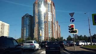 . Москва-Моховая. Поездка в автомобиле по городу