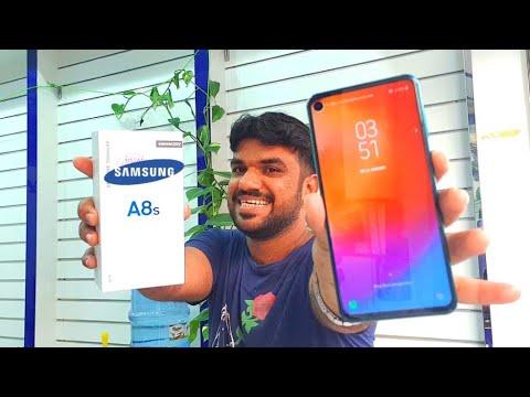 Hindi   Samsung Galaxy A8S Unboxing. 🔥Infinity O Display🔥. Bindiya Chamke ghe