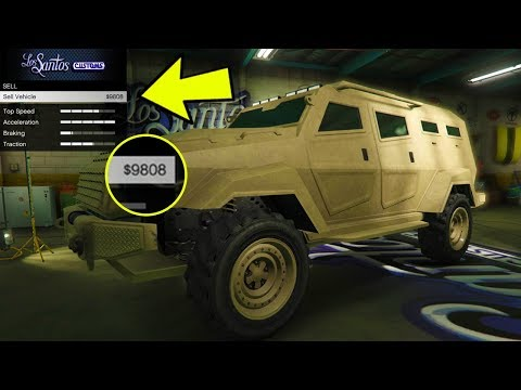 You Won't Believe What Rockstar Does To Cheaters Who Try To Sell Cars/Vehicles In GTA Online!