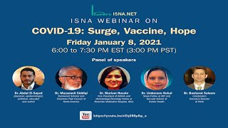 ISNA webinar- COVID 19: Surge, Vaccine, Hope