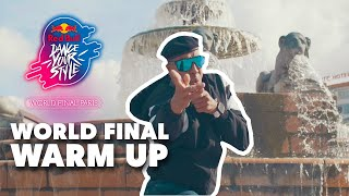 7 of the World's BEST Dancers get ready for the Red Bull Dance Your Style Final in Paris 🇫🇷