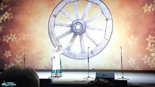 Воспитанницы Биробиджанской музыкальной школы на фестивале-конкурсе народного пения «Живые родники»