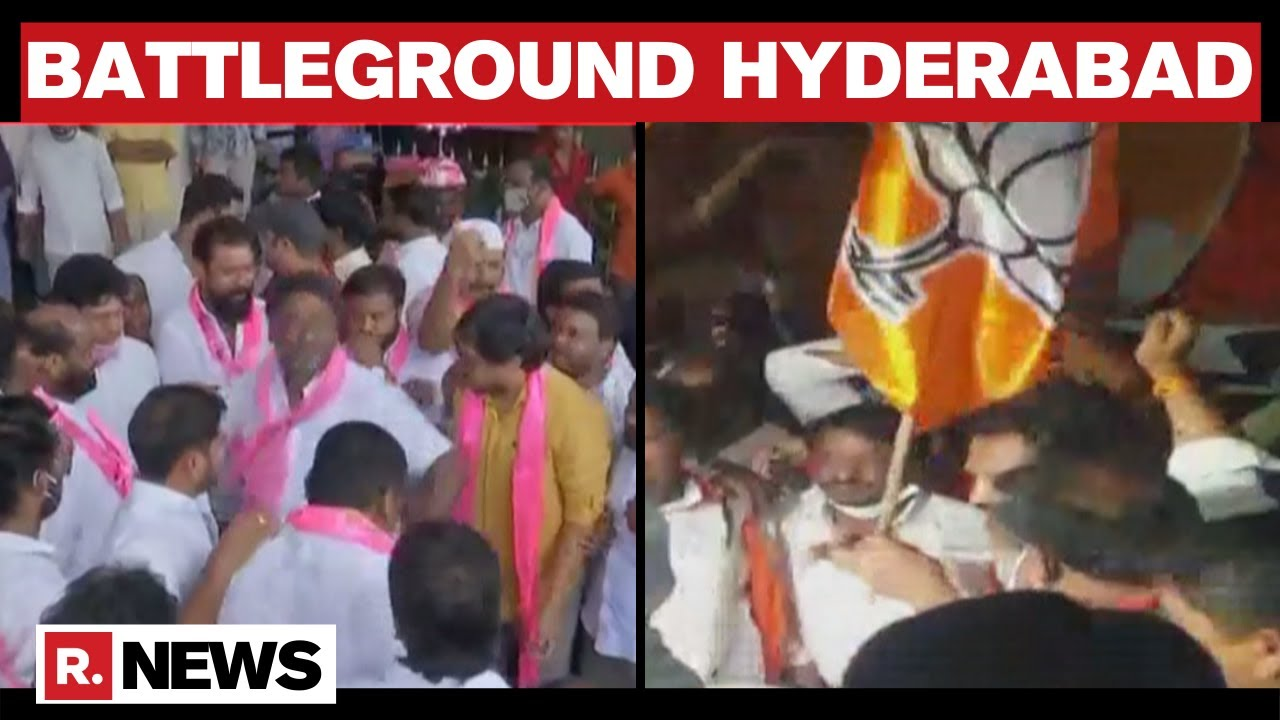 Download GHMC Polls: TRS Leads In Elections, BJP Makes Massive Inroads