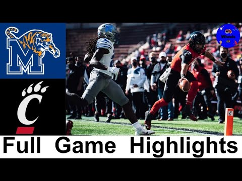 Memphis Vs 7 Cincinnati Highlights College Football Week 9 2020 College Football Highlights Youtube