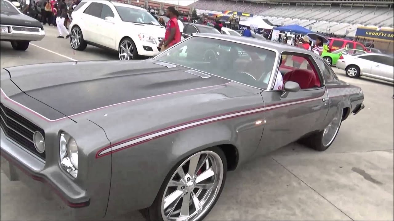 1973 chevy chevelle laguna on staggered billets youtube. Black Bedroom Furniture Sets. Home Design Ideas