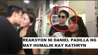 Video Reaksyon ni Daniel Padilla nang may humalik kay Kathryn download MP3, 3GP, MP4, WEBM, AVI, FLV Desember 2017