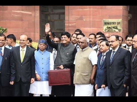 Finance Minister Shri Piyush Goyal presents Union Budget 2019-20
