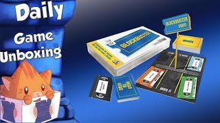 Daily Game Unboxing - Blockbuster Party Game